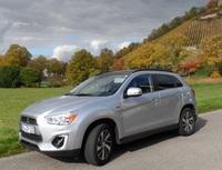 Im Auto-Praxistest: Kompakt-SUV Mitsubishi ASX