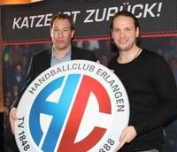 Handball-Bundesliga: Nikolas Katsigiannis kehrt im Juli zum HC Erlangen zurück