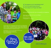 Bewerbungsphase startet: Town & Country Stiftung vergibt 330.000 Euro an gemeinnützige Projekte für benachteiligte Kinder