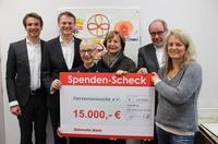 Hanseatic Bank spendet erneut 15.000 Euro für Therapie kranker Kinder