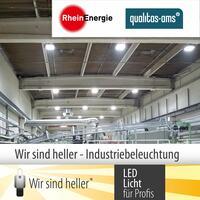 """""""Wir sind heller"""" – Industriebeleuchtung für Profis"""