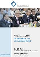 Die Reglementierung meistern: Frühjahrstagung der KMU-Berater