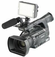 Somikon Foto- und Videoleuchte FVL-1420.d mit 204 Tageslicht-LEDs