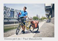 Ein Sack voll Fahrradtaschen - für Pendeln, Sport und Laufsteg