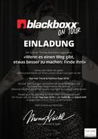 Blackboxx Messestand bei den Top Hair Fashion Days 2016