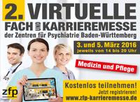 ZfP-Gruppe mit 2. Auflage der virtuellen Fach- und Karrieremesse am Start