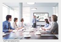 Premiere des neuen Panasonic Whiteboard Displays auf der ISE 2016