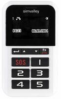 simvalley MOBILE 5-Tasten-Handy Pico RX-902 mit Garantruf