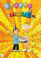 5. Jahre Kinder Poster-Magazin LINDANI & Co.