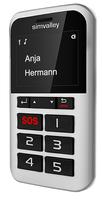 simvalley MOBILE 5-Tasten-Handy Pico RX-902 mit Garantruf Premium, GPS