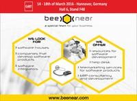 Outsourcing Spezialist BeeNear auf der CeBit in Hannover, vom 14.-18. März 2016