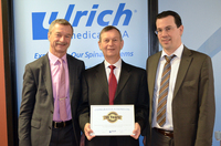 ulrich medical is on the road to success with its U.S. subsidiary