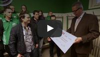 """Heinz von Heiden-Aktion """"Das ist Eure Kabine"""""""