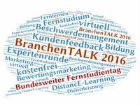 BranchenTalk 2016: DistancE-Learning als Dienstleistung