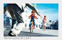 Radfahren lernen: Kinder stürzen ganz sicher