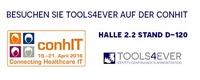 Tools4ever präsentiert innovative IAM-Softwarelösungen auf der conhIT - Europas wichtigste Fachmesse für Gesundheits-IT
