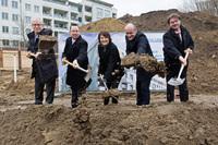 Baustart in Köpenick: STADT UND LAND errichtet 90 neue Wohnun-gen am Amtsgraben 1