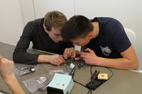 Schüler geben MCD Elektronik Bestnoten für SIA