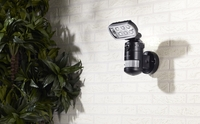 VisorTech HD-IP-Kamera m. LED-Flutlicht, 8 W
