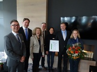Atrium Hotel Mainz erhält Umweltauszeichnung