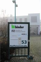 binder eröffnet neues Werk