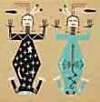 Indianische Kunst mit Spirit - Sandbilder der Navajo