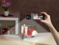 App gesteuerte LED-Videoleuchte für Smartphones und Co. mit 16 Power-LEDs