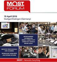 MOSTCO veröffentlicht MOST Forum Programm