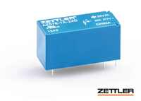 Now available: ZETTLER electronics General Purpose Miniature Power Relay AZ576