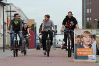 Der Radfahrer als Wähler: Stimmen fürs Fahrrad