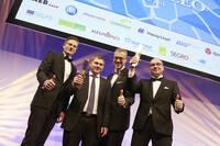 LGI-Mitarbeiter gewinnen Logistik-Award LEO mit Paket-Service pakadoo