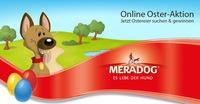 In der Meradog Online Osteraktion sind täglich wertvolle Preise versteckt