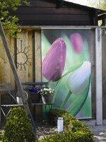 Textilposter - die neue Art mehr Farbe in Ihren Garten zu zaubern!