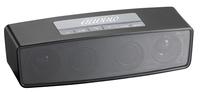 auvisio Bluetooth-Stereo-Lautsprecher mit microSD, USB, FM-Radio und Mikrofon
