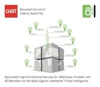 8ack zeigt High End Internet Security für Webshops und KMUs auf der CeBIT
