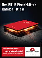 """Endlich ist es soweit ... """"der Eisenblätter""""- Katalog 2016/17 ist da. Erstmals auf der Eisenwarenmesse 2016."""