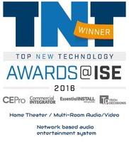 AIA Systeme werden auf der ISE 2016 als bestes Heimkino und Multiroom-System ausgezeichnet