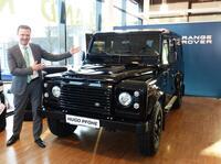 Ein Paukenschlag zum Abschied des kultigen Land Rover Defender