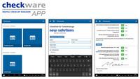 Checkware App: Digitale Checklisten offline am Mobilgerät ausfüllen
