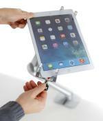 Ergotron: verschließbare Tablet-Halterung für Einzelhandel & Gewerbebetriebe