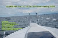 Boote Trailer Motoren Hausmesse 2016 beim Bootsshop Müller