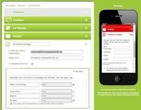 Response-Elemente einfacher zu realisieren auf Mobilen Landing Pages als in Apps