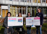 Recklinghäuser Gewinnerin der E WIE EINFACH Stromrente spendet 2.000 Euro an Dattelner Kinderpalliativzentrum