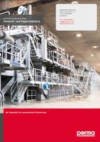 perma Schmiersysteme im Einsatz: Zellstoff- und Papierindustrie