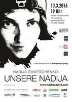 """ArtMaidan Cinema präsentiert den Dokumentarfilm """"Unsere Nadija"""""""