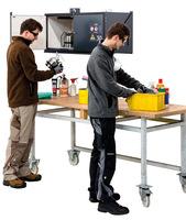Gefahrstoffbox Basis-Line: Brandschutz direkt am Arbeitsplatz