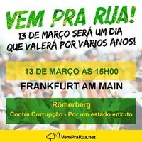 Brasilien Gegen Korruption. Unterstützung Lava Jato und Zelotes