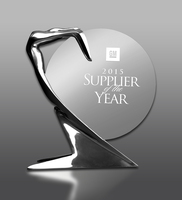 Huf erhält General Motors Supplier of the Year Award 2015