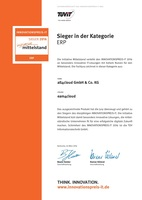 Cloud-ERP-Suite SAP Business ByDesign mit eam4cloud gewinnt Preis der Initiative Mittelstand