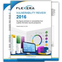 Flexera Software veröffentlicht Vulnerability Review 2016 von Secunia